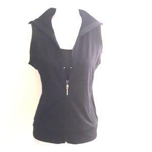 NY&C Activewear Vest SZ XS